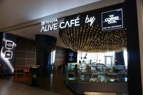 TOYOTA ALIVE CAFE