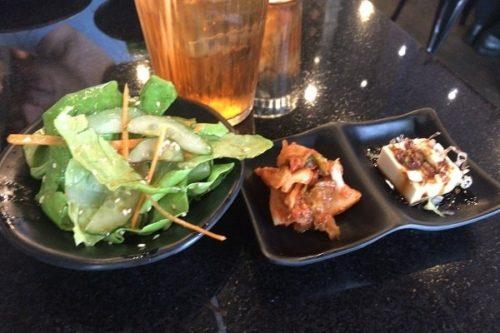 サラダと小鉢