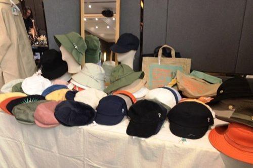 ムジナセールで売っていた帽子