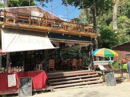 ライレイビーチのレストラン