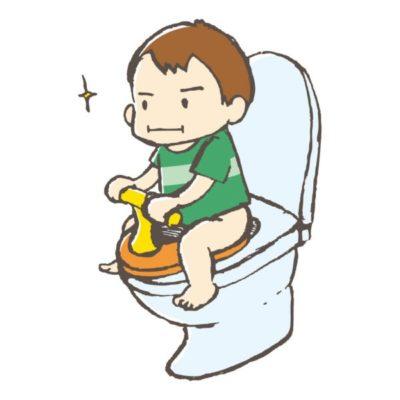 男の子のトイレトレーニングのやり方!いつから始める?シール台紙やコツも紹介!