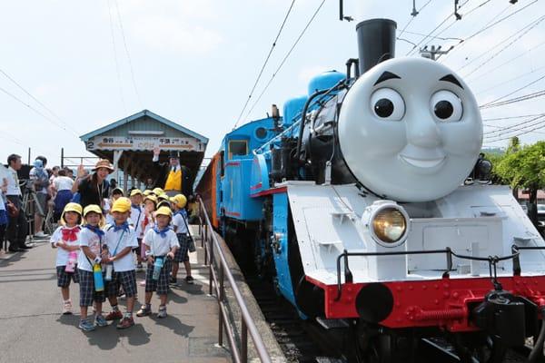 大井川鉄道トーマス号に乗ろう!チケット予約方法や当選倍率は?
