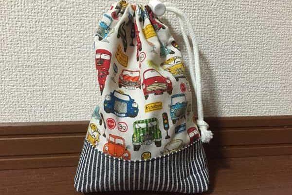 【入園グッズ】コップ袋の作り方。初心者でも型紙なしで簡単手作り!