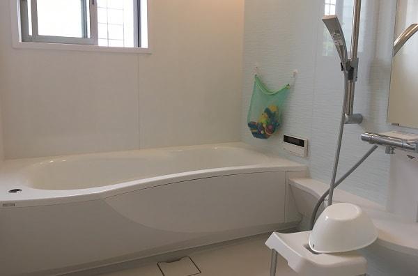 【web内覧会】洗面&浴室は広くリラックスできる空間に。収納も大きく作ってもらいました。