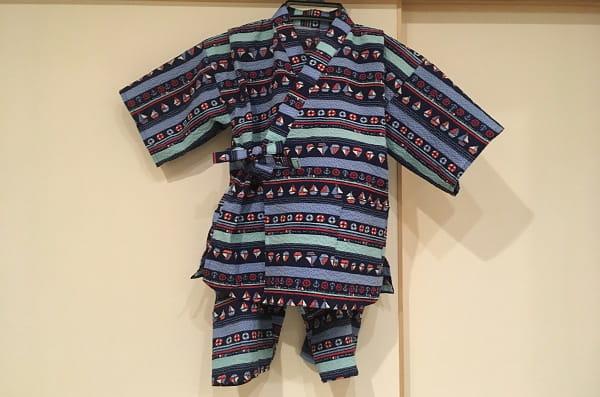 子供用甚平の作り方。110cmの型紙を使って可愛く手作りしてみたよ!~上着編~