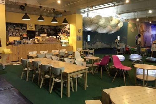 イマジニア内のカフェ