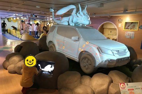 イマジニア内にある大きい車