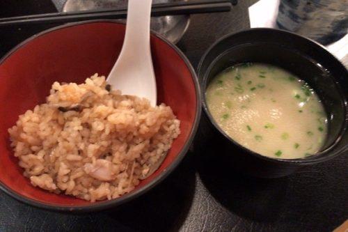 釜飯ととりスープ