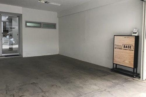 ピラティスベース教室の入り口