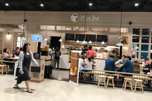 the market bangkok内の店舗
