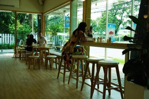 くもカフェ店内の様子