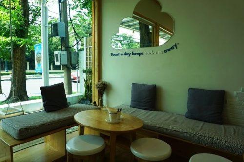 くもカフェの店内の様子