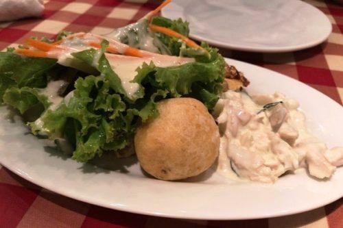 lacocoricoランチ前菜