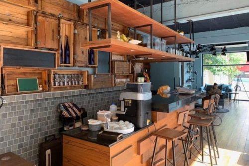 WASHのカフェ