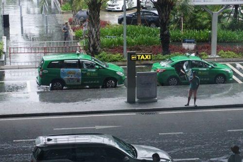 ダナン空港タクシー乗り場