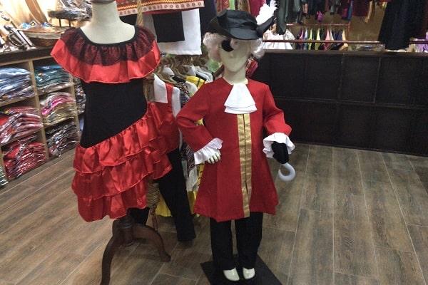スペイン風衣装
