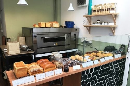 Salee Bakehouseの店内