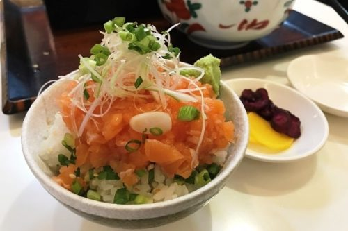 ミニトロサーモン丼
