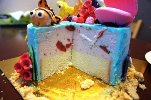 Baskin Robbinsのアイスケーキ